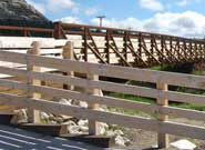 Parks and Recreation Architecture at Custer State Park Bike Trail